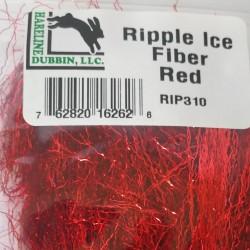 Ripple Ice Fibber Hareline Red