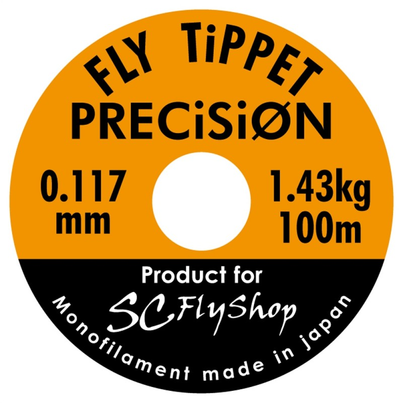 "Nylon ""FLY TiPPET PRECiSiON"" 0.117"