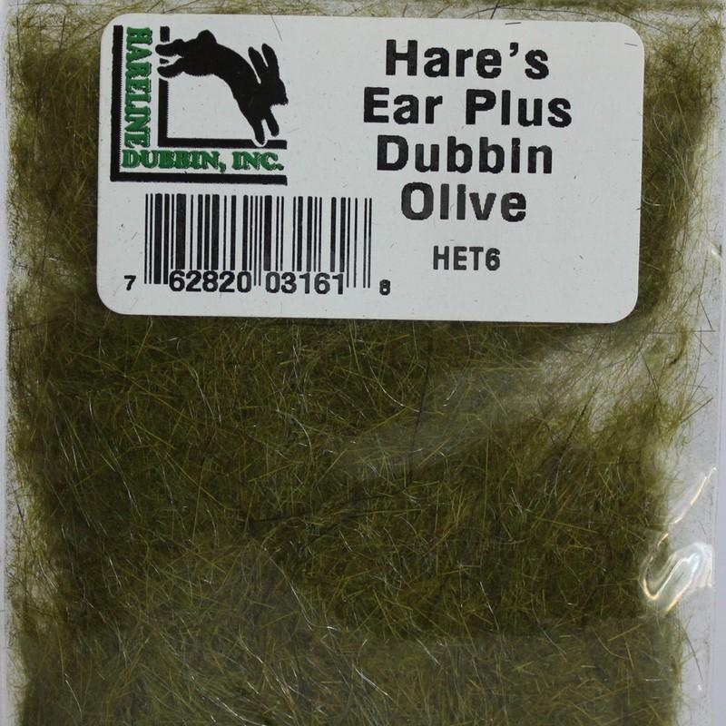Dubbing de lièvre et antron Hareline Olive