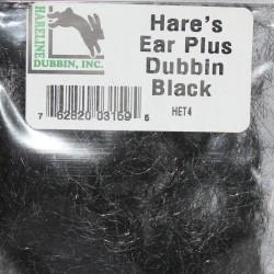 Dubbing de lièvre et antron Hareline Black