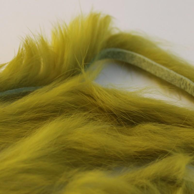 Bandelettes de lapin Hareline Golden Olive