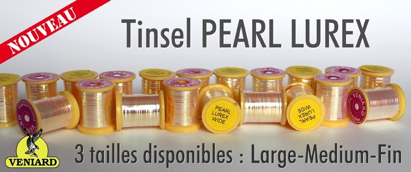 Tinsel PEARL LUREX